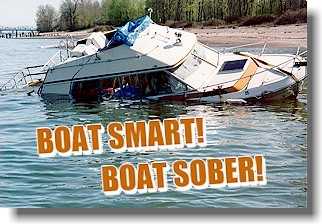 In The Same Boat Be Smart Boat Sober