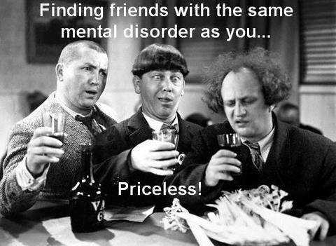 Used 2013-01-30 3 Stooges (AlKHall Anonymous alcohol recovery sobriety)