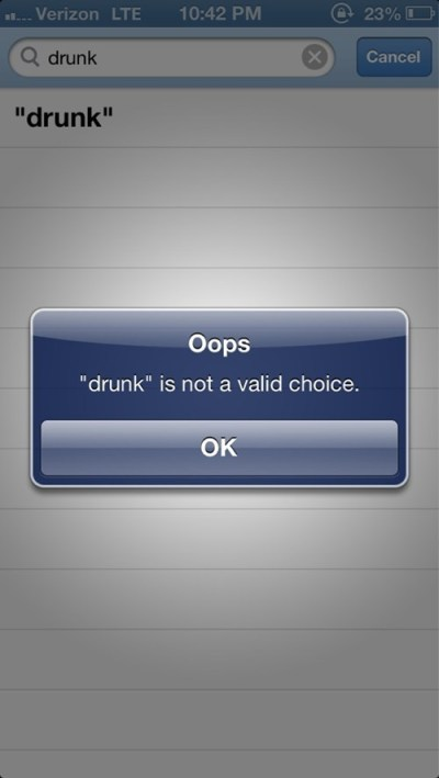 Drunk is not an option (AlKHall Anonymous sobriety recovery)